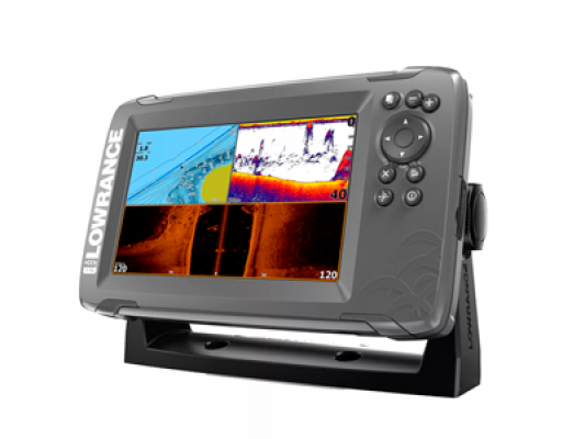 Эхолот Lowrance Hook2-7 TripleShot US COASTAL/ROW